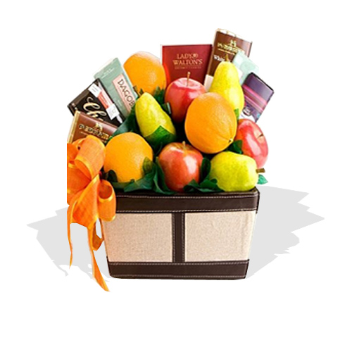 Fruit & Chocolate Gifts Hamper  (FG17)