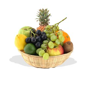 Fruit Cocktail Fruit Basket  (FG6)