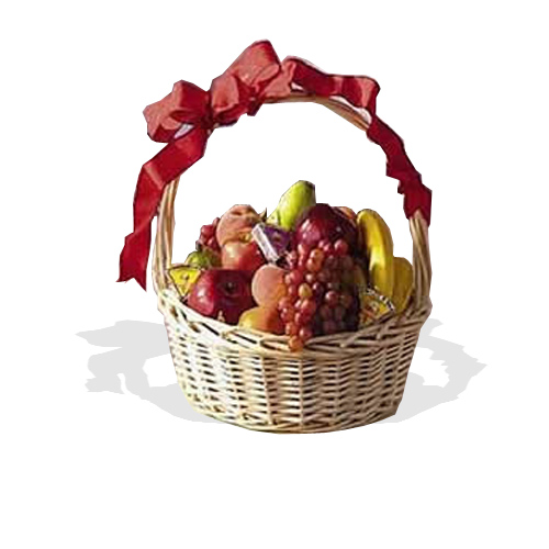 Fresh Fruit & Cheese Hamper  (FG16)