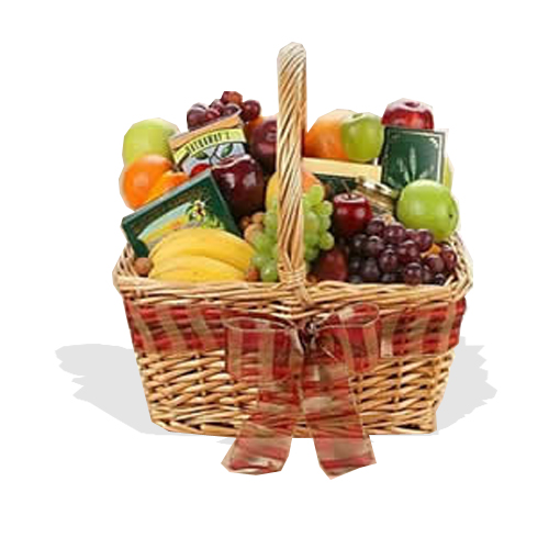 Simply Delicious Fruit & Gourmet Hamper  (FG19)