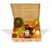 Fruit Hamper With French Brandy  (BB5)