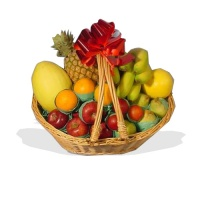 Caribbean Twist Fruit Basket