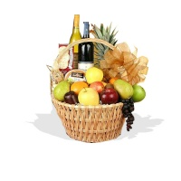 Celebrations Fruit & Wine Hamper  (FG3)