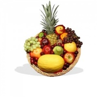 Best Seller Deluxe Tropical Fruit Tray  (BB10)
