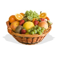 Morning Zest Fruit Basket  (FG7)