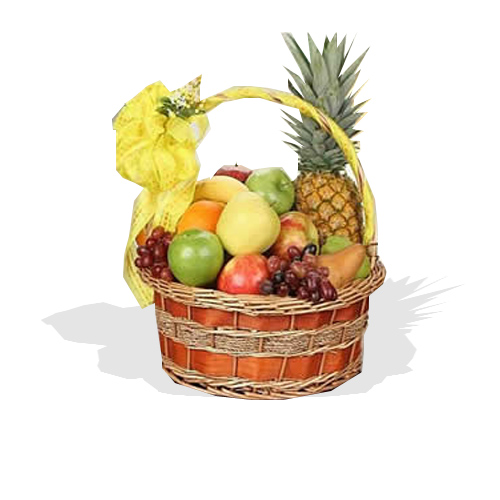 Get Well Fruit Basket Fg4 Fruit Galore Ltd