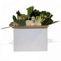 Just The Greens Vegetable Box for 3-4 People